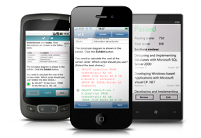 VCE Exam Simulator for Mobile